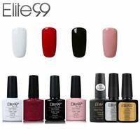Elite99 UV LED Nagellack Nail gel Polish Matt&Top&Base Coat Maniküre 7 Stück Set