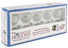 Darice 10-Piece Heavy Duty Glass Balls, 60mm, Clear