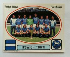 Panini football 82 #100 Ipswich Town FC Team Group