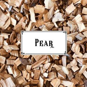 BBQ SMOKING WOOD - Australian PEAR Wood Chips 1/2kg Bag - FREE POST!