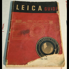 Original 1946 Instruction Guide to famed Leica 35mm still film camera