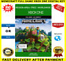 Minecraft Xbox One Full Game Digital Key Code Region Free (No CD/DVD) FREE P&P
