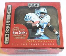 1999 Playoff Absolute EMPTY Box Barry Sanders FOOTBALL