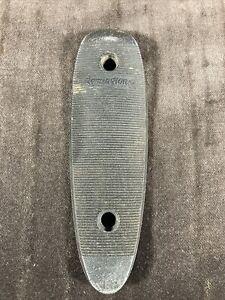 "Vintage Remington Metal Gun Butt Plate D17015 5"" X 1-1/2"""