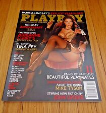 Playboy Magazine January 2008 Adrianne Curry Holiday Anniversary Issue