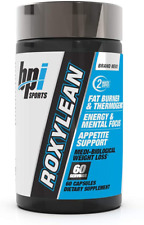 BPI Sports Roxylean Extreme Fat Burner Weight Loss Dietary Supplement 60 Capsule