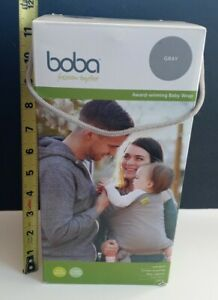 Boba Wrap Grey 0-36 Months Carriers Slings Backpacks Baby NEW IN BOX