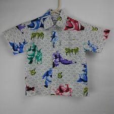 SHREK Short Sleeve Button Up Shirt Kids Boys Size 24 Months