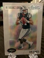 2018 Sam Darnold RC Absolute Football Introductions Insert #IN-SD Rookie Jets