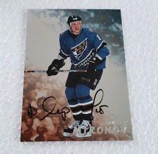 1998-99 Essere un Giocatore Autografi #295 Dmitri Mironov