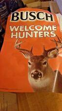 bush welcome hunters vertcal banner...free shipping