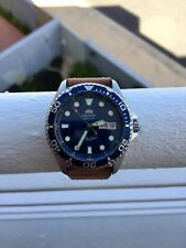 Orient Ray2, Blue with Sapphire crystal. Stuck bezel (does not rotate).