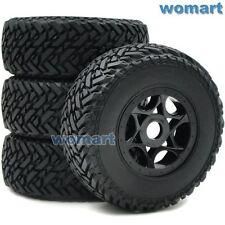 4 Stk 1/8 Short Course Reifen Tire & Hex 17mm Felge Für 1:8 Buggy Off Road Autos