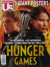 HUNGER GAMES Jennifer Lawrence Josh Hutcherson Us Magazine With 3 Giant Posters