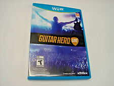 Guitar Hero Live Wii U (Game Only)