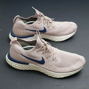 Nike Mens Epic React Flyknit Running Shoes Size 15 Diffused Taupe AQ0067-201