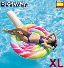 Flotador hinchable gigante para piscina playa diversión INTEX Piruleta