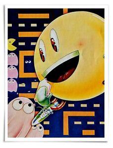 """Poster : 1981 PAC-MAN Atari 2600 (manual detail) - 16""""x20"""" Premium Matte Paper"""