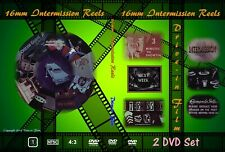 16mm Intermission Reels Drive-in Theatre film trailer 2 DVD set movie theater