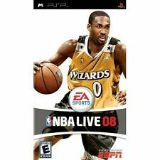 NBA Live 08 Sony For PSP  Basketball Bideo Game ESPN Multi-player FREE SHIPPING