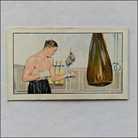 Gallaher Champions 21 Jack Petersen Boxing Cigarette Card (CC21)