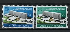 United Nations stamp set MNH unmounted mint X2
