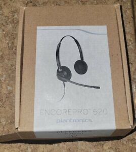 NEW Plantronics HW520 EncorePro Headset 89434-01
