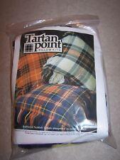 "Tartan Point pillow kit, needlepoint for 14"" pillow, Campbell of Argyll"
