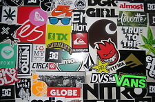 50x Skate Skateboard Snowboard Surf Board Surfbrett Longboard Sticker Aufkleber