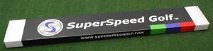 "SuperSpeed Golf Overspeed Training System Aid ""Senior"" 3 Piece Set - NEW"