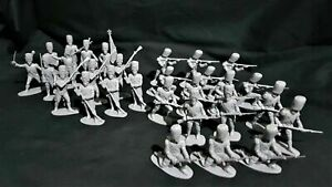 AIRFIX 1970'S VINTAGE FRENCH IMPERIAL GUARD 1815, 29 FIGURES FULL SET # 2.