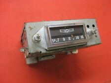 1958 Chevy Belair Biscayne 2 & 4 Door Sedan AM non-push button radio   0716