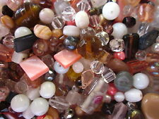 100g Classic Glass Bead Mix (Asst Shapes/Sizes) #1839 Combine Post-See Listing