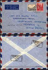 2561 - Svizzera - Busta via aerea da Ascona a Mumbai (Bombay, India), 27/11/1946