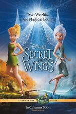 TINKER BELL SECRET OF THE WINGS MOVIE POSTER 2 Sided ORIGINAL 27x40