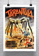 Tarantula Vintage Sci-Fi Spider Movie Poster Rolled Canvas Giclee 24x32 in.