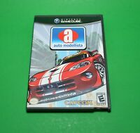 Auto Modellista (Nintendo GameCube, 2003) Complete With Manual - Fully Tested