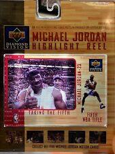 Upper Deck Diamond Vision Michael Jordan Highlight Reel - Taking the Fifth - New
