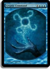 4x Cryptic Command Textless FOIL NM MTG Magic the Gathering ***MTGCardHouse***
