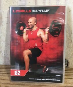 Les Mills Body Pump Release #82 DVD CD Notes