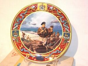 ROYAL DOULTON D DAY LANDINGS 6th JUNE 1944 COLLECTOR PLATE   (free uk shipping)