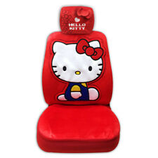 Hello Kitty Car Seat Cover (1 seat cover + 1 headrest cover). Premium offiicial.