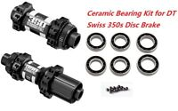J&L Ceramic Bearings for DT Swiss 350 Disc Brake Thru Axle/QR Hubs-StraightPull
