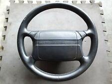 Porsche 944 Turbo 944S2 968 Oem Airbag Leather Steering Wheel - Black