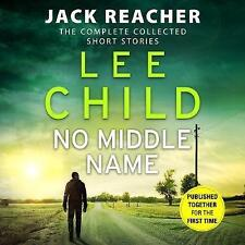 No Middle Name: Complete Jack Reacher Stories 9 CD AUDIO BOOK NEW UNPLAYED
