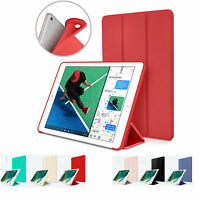 S-Tech Case for Apple iPad 6th Generation Silicone Smart Cover Auto Sleep/Wake