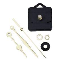 Reloj de cuarzo Mecanismo de movimiento Oro Manos DIY juego de piezas de re C7X5