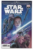 Star Wars Allegiance #4 2019 Unread Will Sliney Variant Cover Marvel Comics