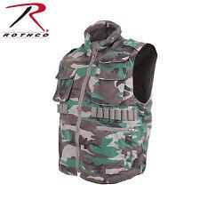 Rothco Vintage Ranger Vest (L)- Woodland Camo