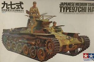 JAPANESE TYPE 97  CHI-HA TANK - TAMIYA 1/35